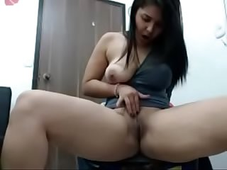 Girl masturbating self pleasuring