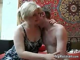 Old russian wants her young step son