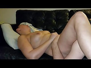 Slutwife makes hubby lick her pussy clean then gets creampie
