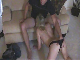 Busty blonde hardcore amateur