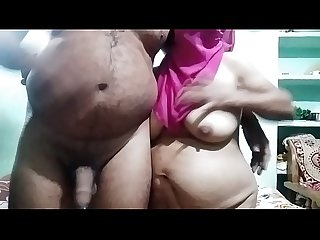 ENJOYING HINDI TALKING CHUDAAI ON CAM WITH HUSBAND RASHMI BHABHI