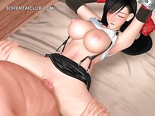 Hentai hottie getting deep penetrated cums
