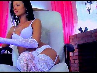 Beautiful webcam girl ibizasunrise fucking her perfect pussy with her dildo
