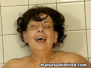 Fat Mature maid gets pounded