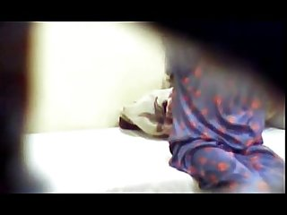 Horny neighbour girl Fingering hidden cam clip