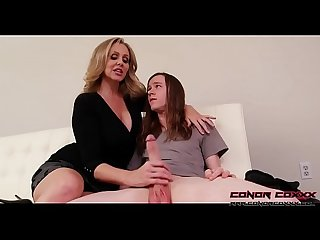 Conorcoxxx let s play while dad s away with julia ann