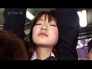 41ticket yayoi yoshino caught in bus gangbang lpar uncensored jav rpar