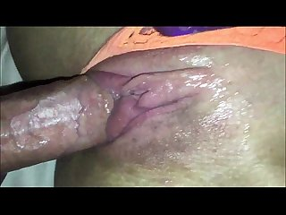 Super Wet Teenage Pussy Closeup