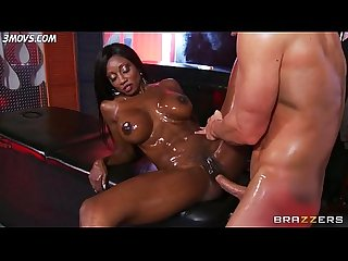 Anal milf diamond jackson all oiled up gets Ass fucked lq