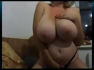 Huge tits amateur russian milf on cam milfiliciouscams period com