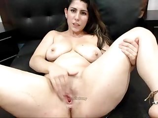 Female cum squirting ginna x 4 squirting