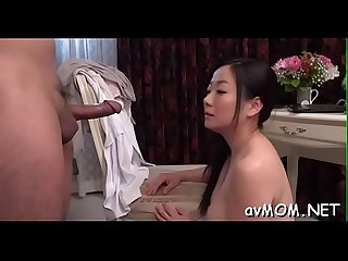 Finger fucking asian slut mama