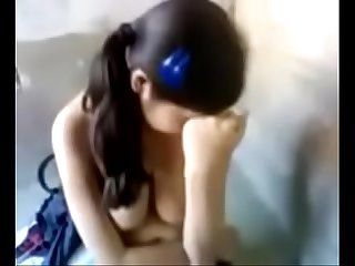 Sex of 1st year college girl removing cloth and gali to Boyfriend in clear audio