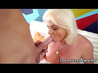 Great tits grandma jizzed