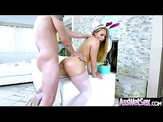 Hard Anal Sex On Camera With Big Oiled Ass Girl (aj applegate) movie-01