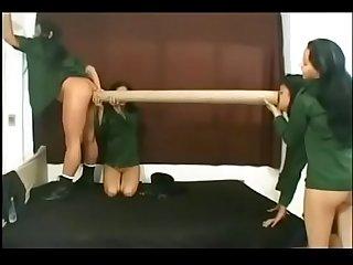 Lesbian farts