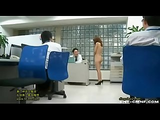 Naked in Office