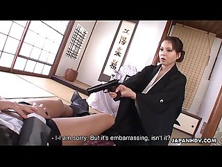 Engsub Yuki Tsukamoto gets an unexpected threesome Full HD 1080 Part 3..
