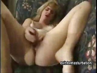 My spread dildo masturbation and big orgasm
