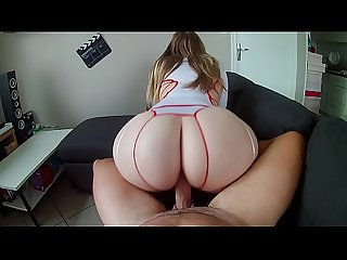 PAWG Nini the nurse fucking with patient ! She's very hot with her big ass !