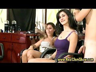 Cfnm girls at the hairdresser