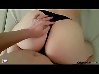 Hot MILF Blowjob and Fuck Big Ass POV - CristallGloss