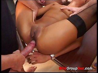Wild german Gangbang Orgy