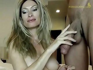 Horny Mature Mommy Sucking Giant Italian Cock Dirk