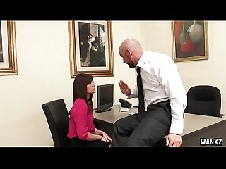 Wankz Sexy Office assistant fucks her boss