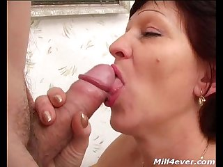 Mom gives oral