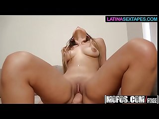 (Sophia Leone) - Sexy Latinas Facial - Latina Sex Tapes