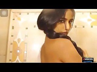 Poonam pandey full Saree video