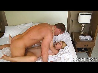Sexy girlie finally gets sexy fuck