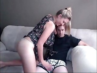 Sexy blonde fucks cousin on cam - SlutCams.vip