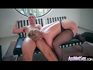 Anal hardcore sex tape with slut big curvy ass girl lpar brooklyn chase rpar Vid 15