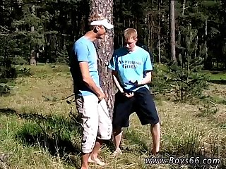 Smoking gay sexy men first time Roma and Artur Piss Play Outside