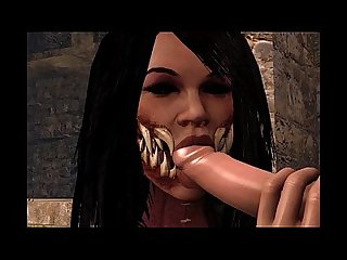 Mileena mortal kombat 3d Animation compilation
