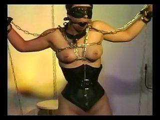 Cat torture bondage 2