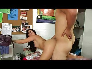 Toronto Teen Couple - Fucking in College Dorm
