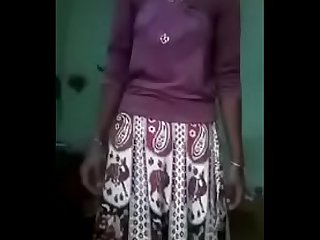 Tamil dress to nude