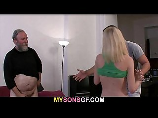 Father punishes his son s girl