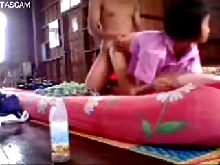 Thai thephsala young couple sex