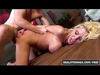 Hot blonde stripper (Nina Elle) leaves work early for some cock - Reality Kings