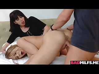 Stepson doggystyle fuck Blair Williams